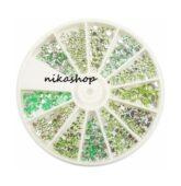 Karusel kamienkov MIX - zelený-7928