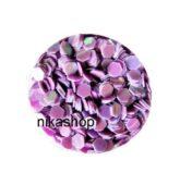 hexagon stredný fialový pastel