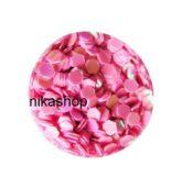hexagon stredný ružový