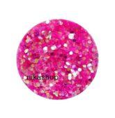 hexagon malý ružový neon