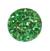 hexagon malý zelený