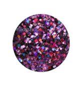 hexagon malý fialový HOLOGRAFIC