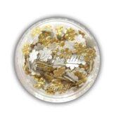 Kvetinka zlatá foliová