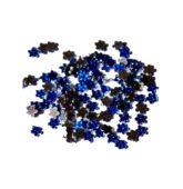Štrasové kamienky modrý kvietok tmavý