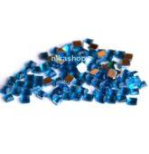 Štrasové kamienky modrý štvorec