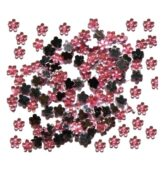 Štrasové kamienky ružový kvietok