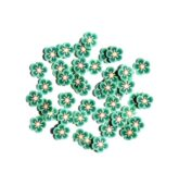 FIMO flower green lina