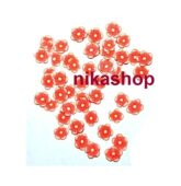 FIMO flower red line