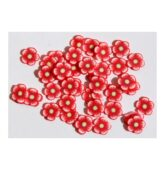 FIMO flower red
