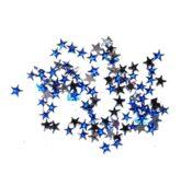 Štrasové kamienky hviezda modrá