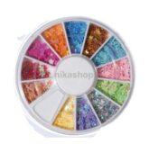 Konfety - kvietok 12.farieb v karusely