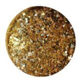 glitter powder MEGA balenie - trblietavé gold