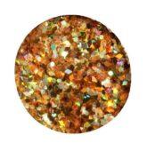 glitter powder MEGA balenie - trblietavé gold 1