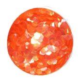 hexagon stredný transparent.oranžový