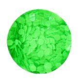hexagon stredný neon green