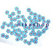 FIMO flower blue light