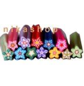 FIMO sada flower špirála (šulec) 12ks