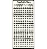 Nálepky sticker decal LION -ČIERNE TN-64
