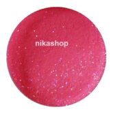 Jos color powder Purplish Red s trblietkami 5ml