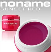 Silcare no name Color UV Gel SUNSET RED 5g