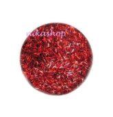 Triesky červené krátke holografic