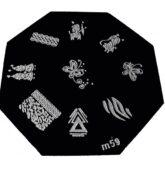 Doštička hexagon - m59