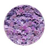 Konfety fialový kvietok lila