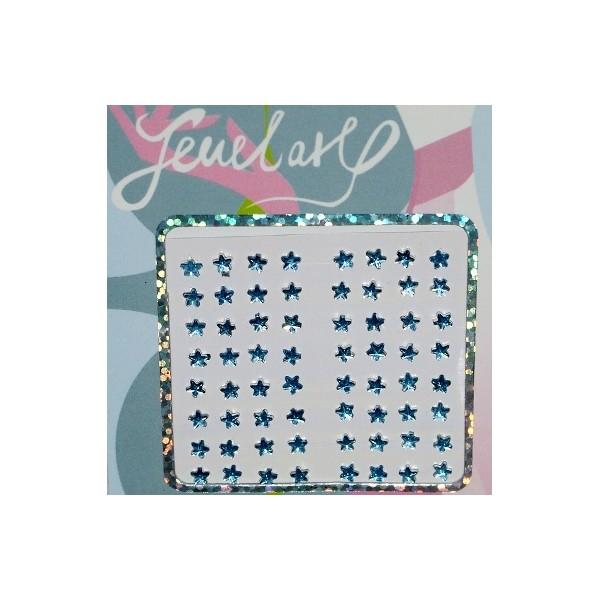 Nálepka Mobil / Notebook / Body - Jewerly star blue