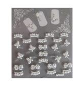 Nálepky Biele perleťové NW05