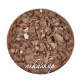 Crushed shells -Drvené mušle hnedá