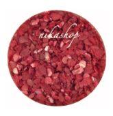 Crushed shells -Drvené mušle červená