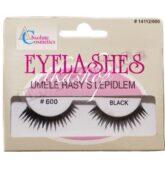 Absolute Cosmetics Umelé riasy s lepidlom 600