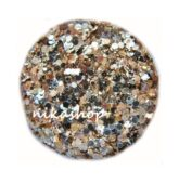 glitter powder BIG balenie - trblietavé Gold