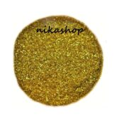 glitter powder BIG balenie - zlaté jemné