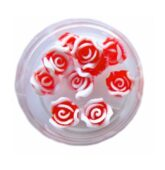 3D silikon - Ruža B Červená-8114