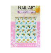 Nálepky nail art sticker 1