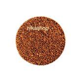 perličky - malé zlato-oranžové