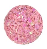 hexagon obrys ružový svetlý-9352
