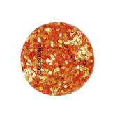 hexagon malý oranžový svetlý-9361