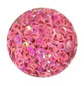 hexagon obrys ružový - staroružový