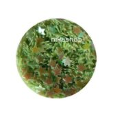 Konfety zelená hviezda