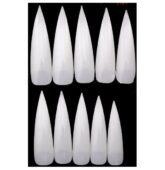 Tipy natural mačacie stiletto 500ks-8891