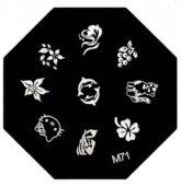 Doštička hexagon - M71-9001