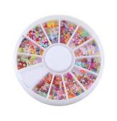 Karusel - perleť mix s mašlou-9242