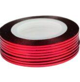 Zdobiaci pásik-červeno ružový-10017