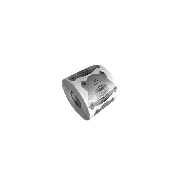 Šablony Nail Form PROFI 1ks silver-10432